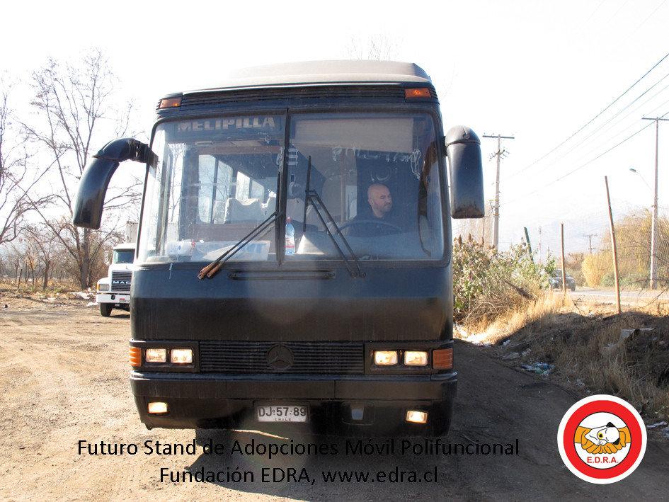 Nuestro bus y el nuevo proyecto que viene en camino.